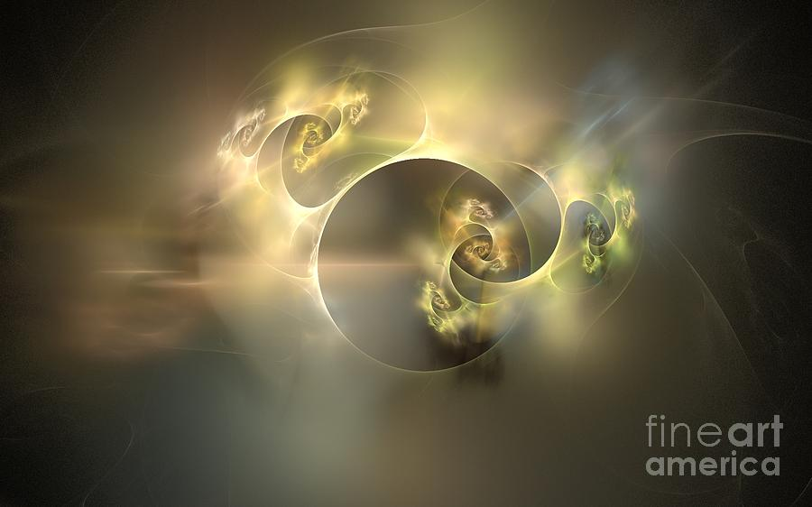 Abstract Digital Art - Emani Equals Peace by Peter R Nicholls