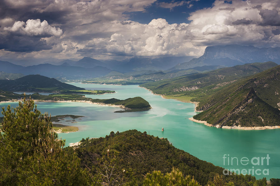 Northern Spain Photograph - Embalse De Mediano 1 by Michael David Murphy