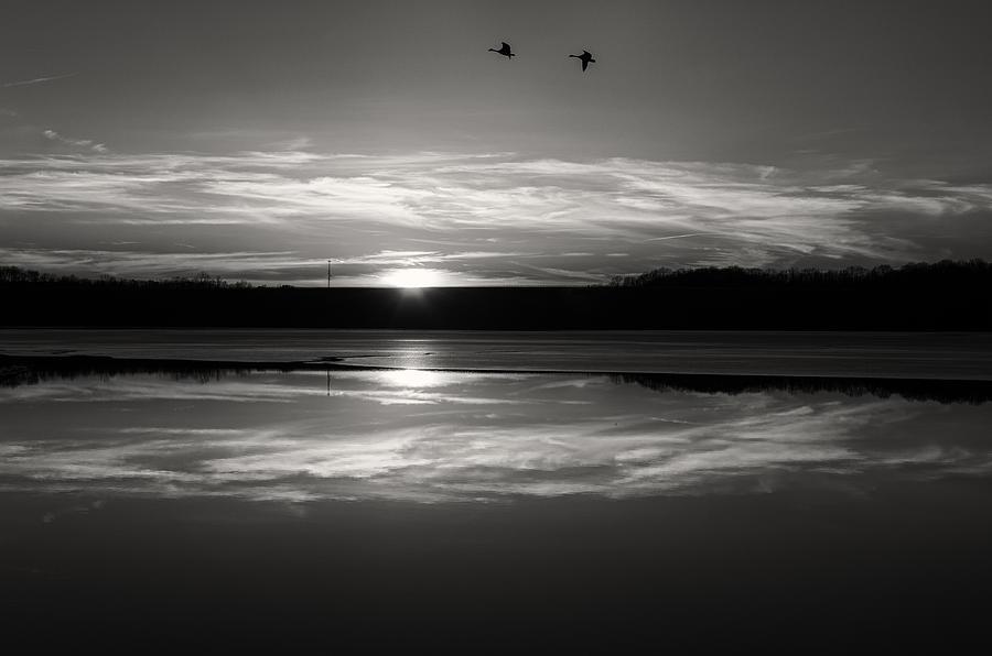 Adams Photograph - Ember Sunset by Diana Boyd