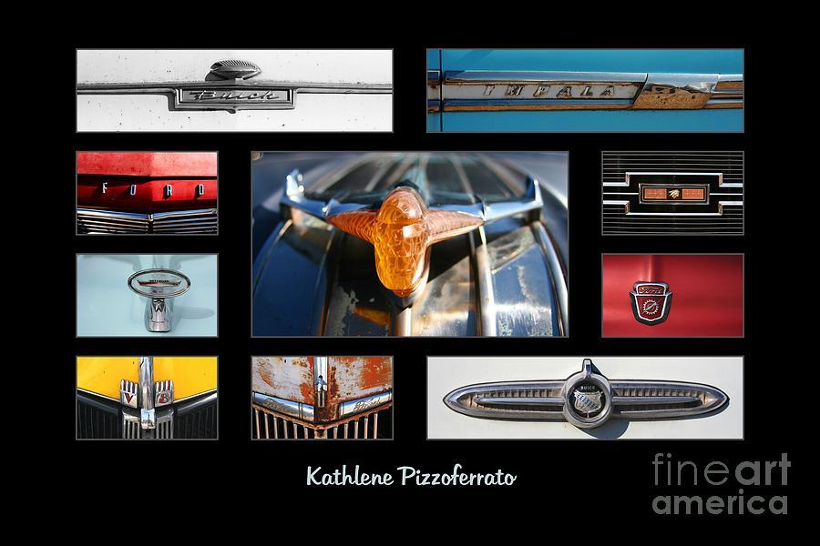 Emblems Photograph - Emblems And Ornaments by Kathlene Pizzoferrato