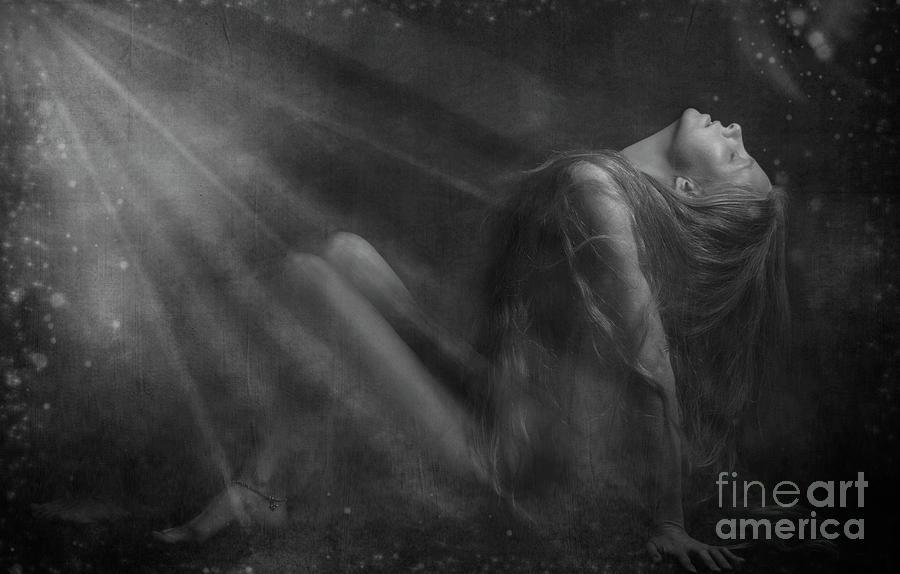 Festblues Photograph - Embraced By The Light.. by Nina Stavlund