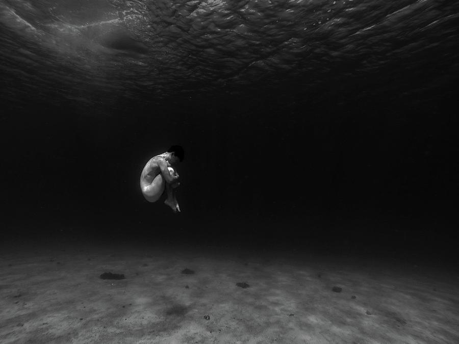 Nude Photograph - Embryo by Sebastian-alexander Stamatis