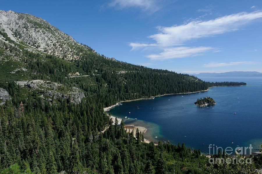 Emerald Bay Photograph - Emerald Bay Lake Tahoe California Usa by John Kelly