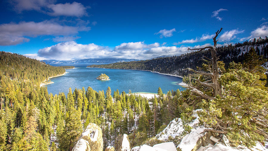 Landscape Photograph - Emerald Bay by Robert  Aycock