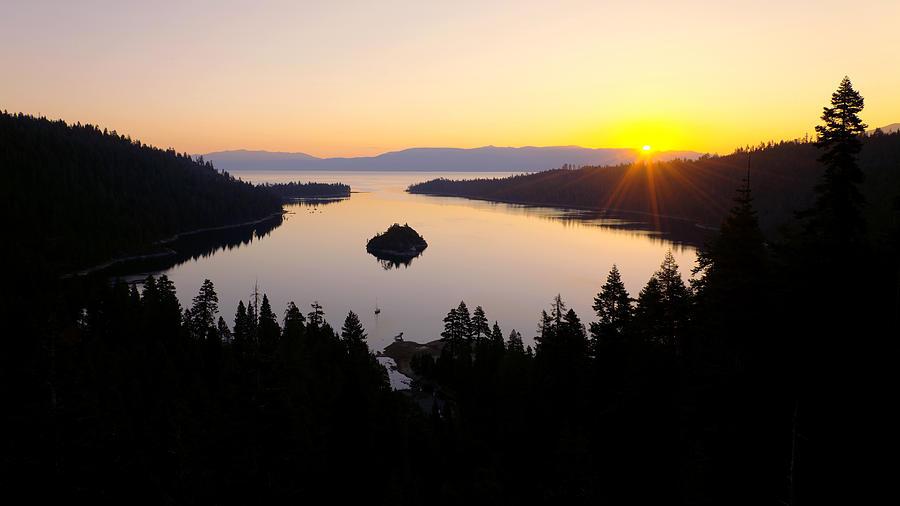 Lake Photograph - Emerald Dawn by Chad Dutson