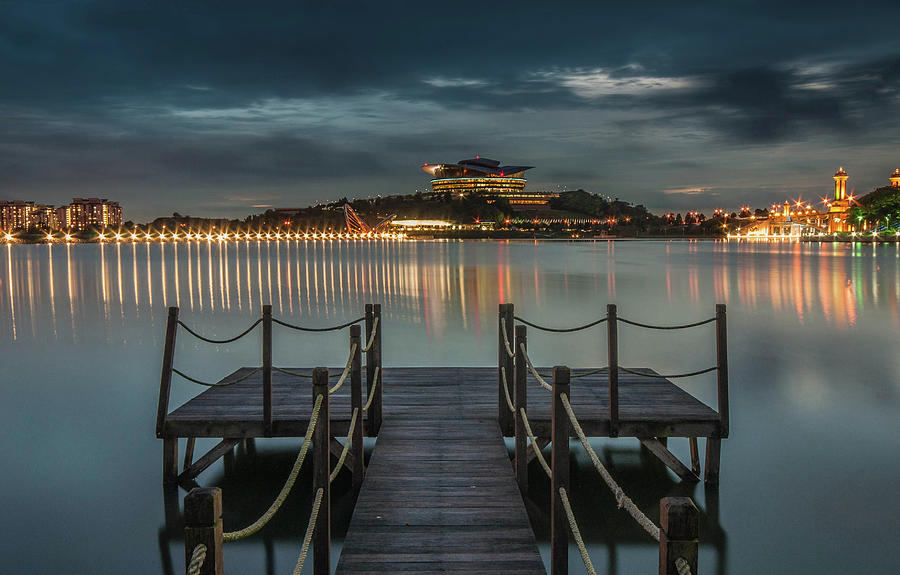 Emerald Hour, Putrajaya Photograph by By Zawawiisa