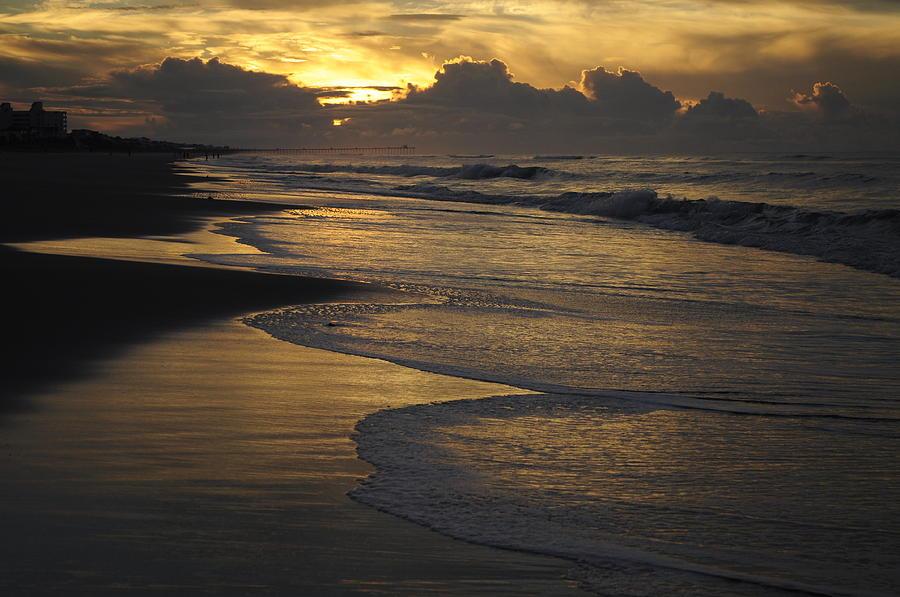 Emerald Isle Photograph - Emerald Isle Sunrise by Bob Grabowski