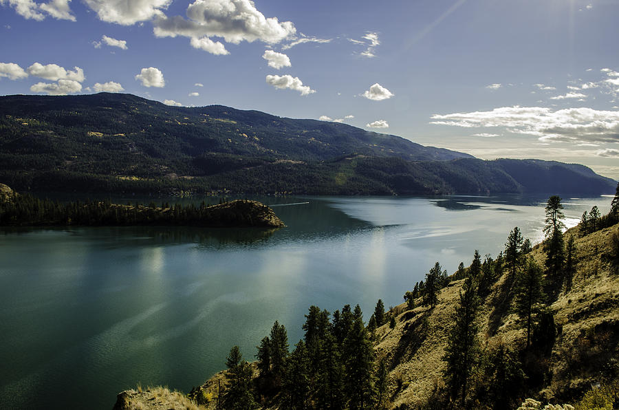 Lake Kalamalka Photograph - Emerald Kal by Rod Sterling