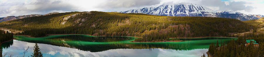 Emerald Lake Panorama Photograph by Blake Kent / Design Pics