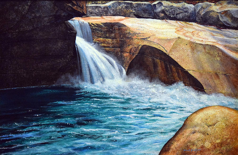 Emerald Pool Painting - Emerald Pool by Frank Wilson