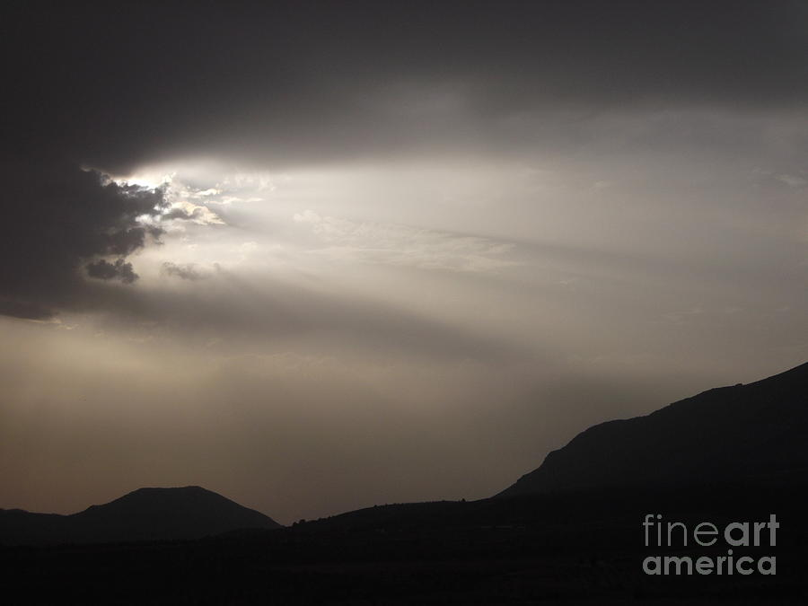 Sun Photograph - Emergence In Andalusia by R McLellan