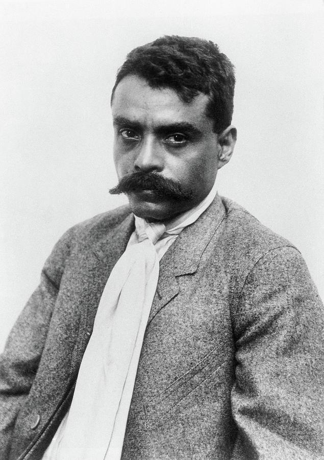 19th Century Photograph - Emiliano Zapata (1879-1919) by Granger