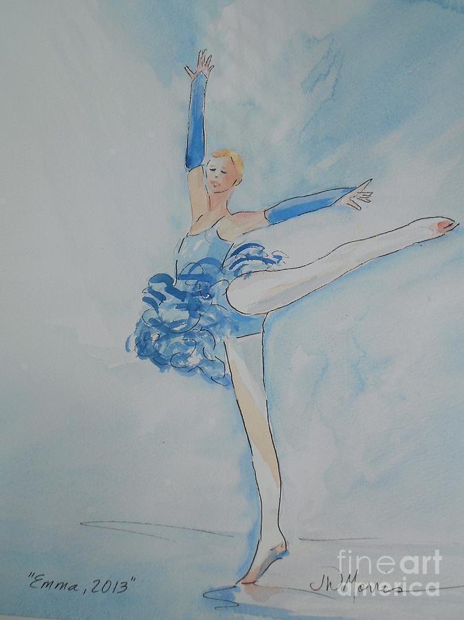 Emma Painting - Emma by Jill Morris