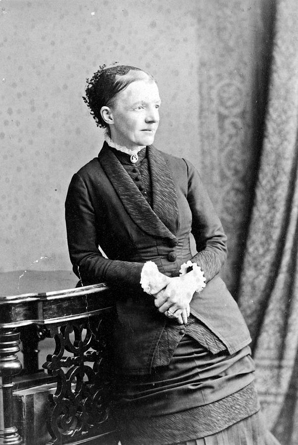 19th Century Photograph - Emma Wedgwood Darwin (1808-1896) by Granger