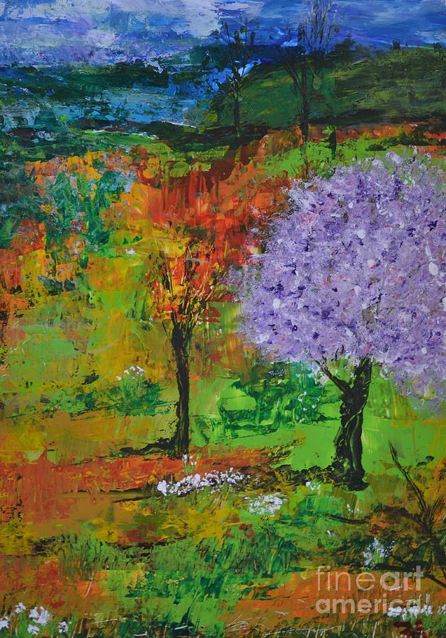 Landscape Painting - Emmets Garden by John Walther