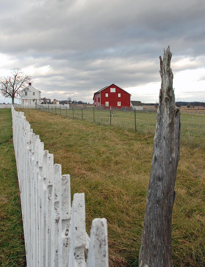 Gettysburg Photograph - Emmitsburg Rd by Jim Cook