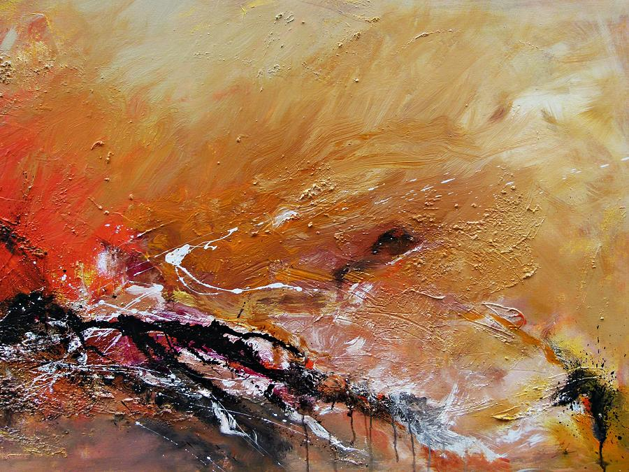 Emotion Painting - Emotion  by Ismeta Gruenwald
