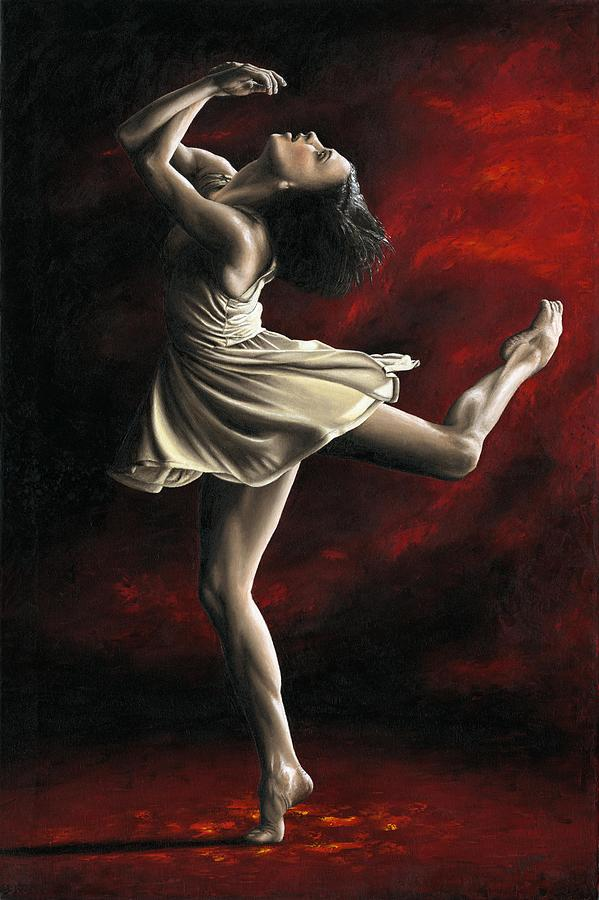 Dance Painting - Emotional Awakening by Richard Young