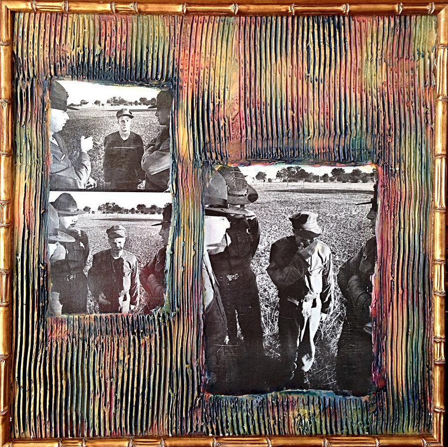 Collage Art For Sale Mixed Media - Emotional Breakdown By Alfredo Garcia by Alfredo Garcia