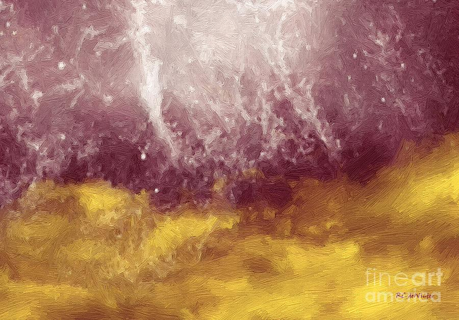 Abstract Painting - Emotional Firestorm by RC DeWinter