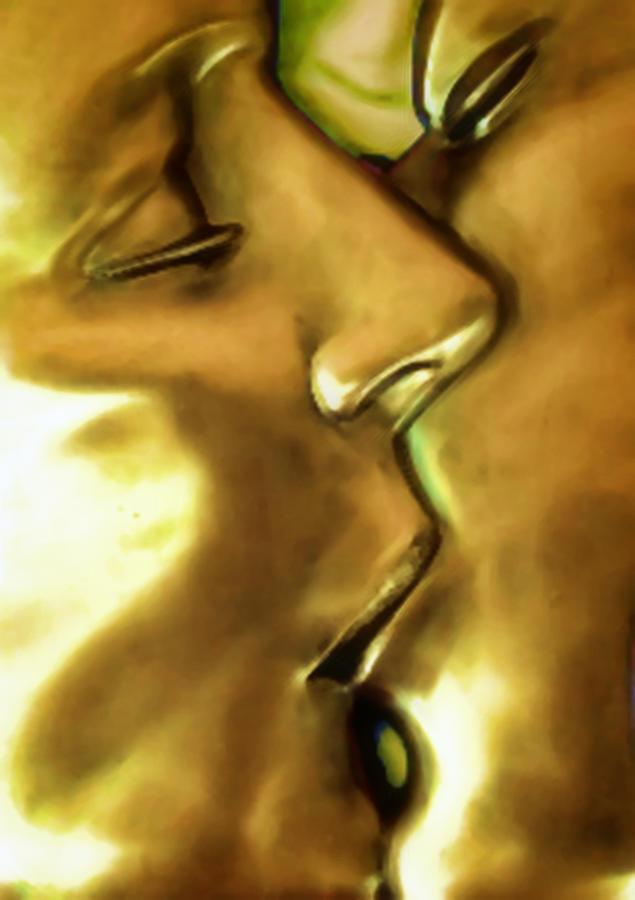Kiss Photograph - Emotional Rescue by Joachim G Pinkawa