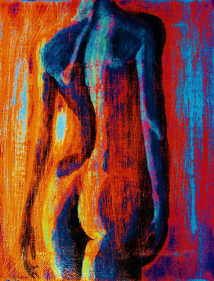 Figure Painting - Emotive by Michael Cross