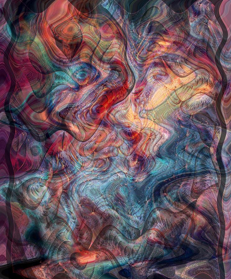 Empathic Psychic Digital Art - Empathic Psychic by Linda Sannuti