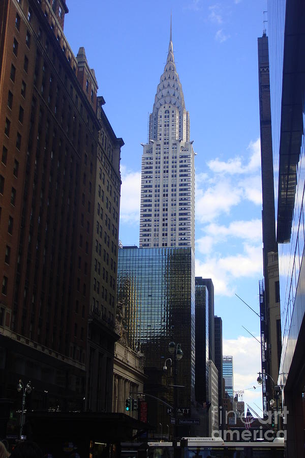 New York Photograph - Empire State by Brittany Perez