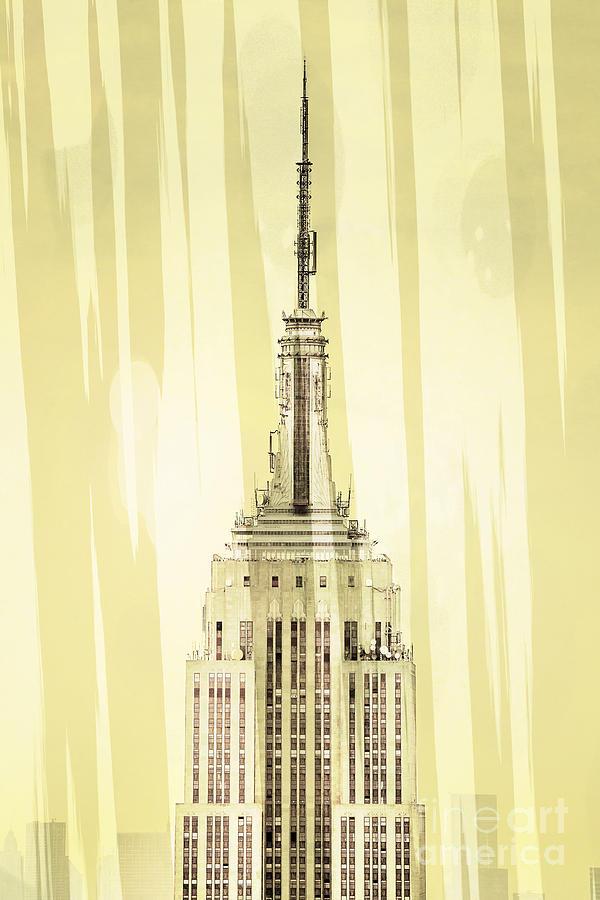 Empire State Building 2 Digital Art