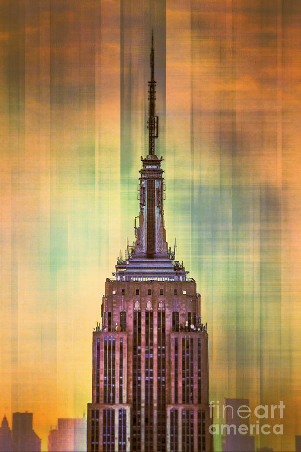 Empire State Building 3 Digital Art