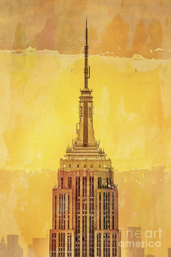 Empire State Building 4 Digital Art