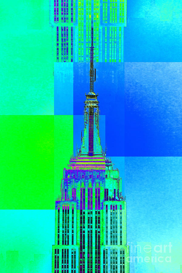 Empire State Building 5 Digital Art