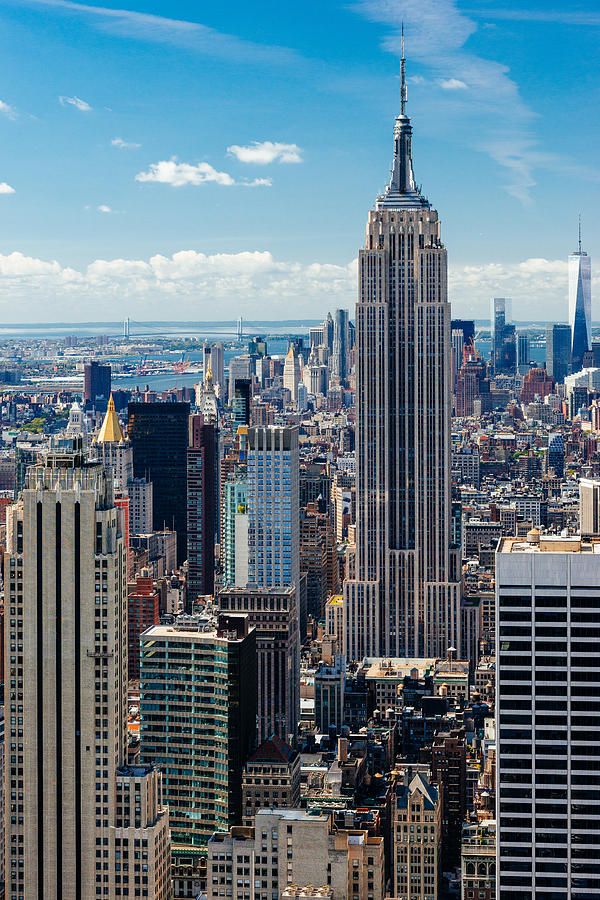 Tower Photograph - Empire State Building by Alyaksandr Stzhalkouski