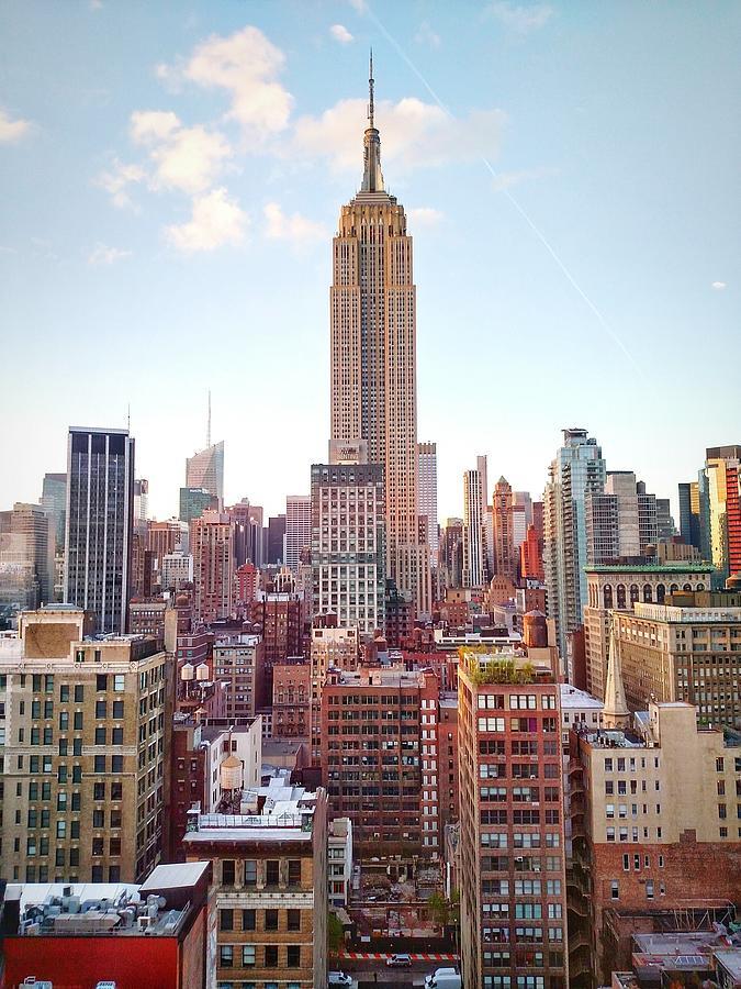Empire State Building Amidst Modern Photograph by Matteo De Santis / Eyeem