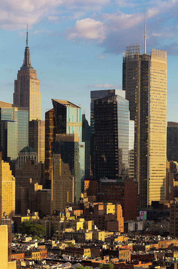 Empire State Building And Midtown Photograph by Future Light