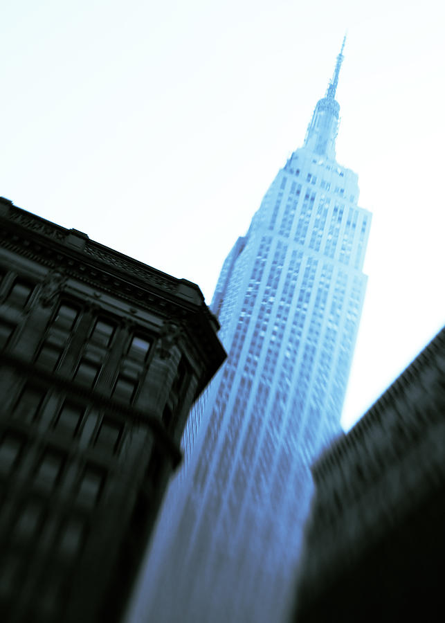 Empire State Building Photograph - Empire State Building by Dave Bowman