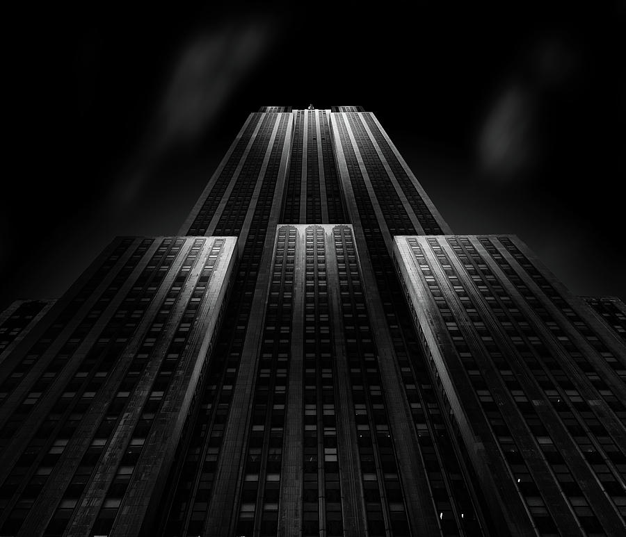 Usa Photograph - Empire State Building by Matthias Hefner