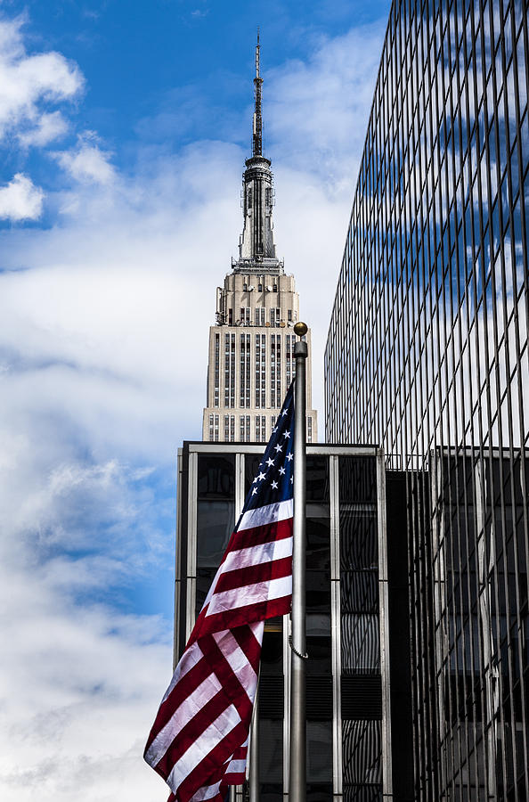 Empire State Building Photograph - Empire State by Chris Halford