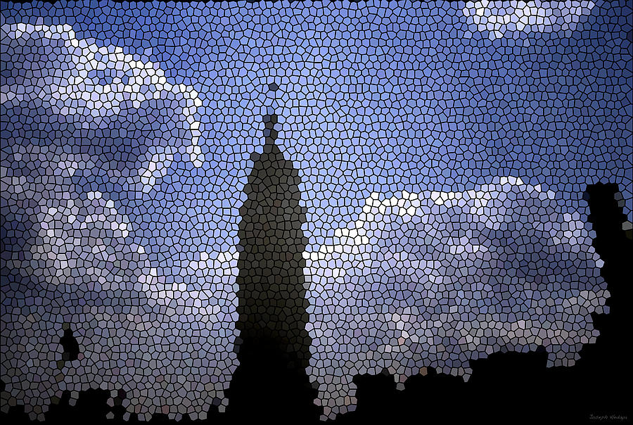Empire State Building Photograph - Empire State Stained Glass by Joseph Hedaya