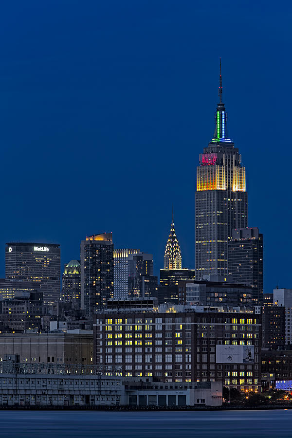 Empire State Building Photograph - Empire State by Susan Candelario