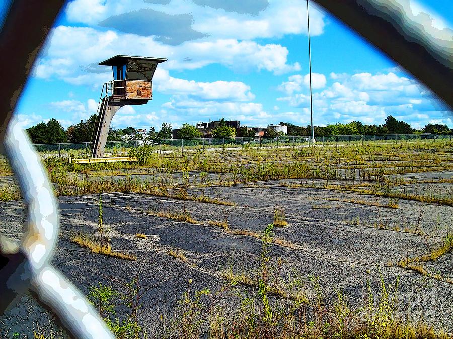 Michigan Photograph - Employee Parking Lot by MJ Olsen