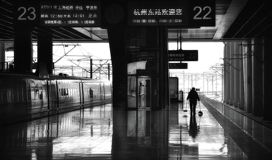 Street Photograph - Empty by Angela Muliani Hartojo