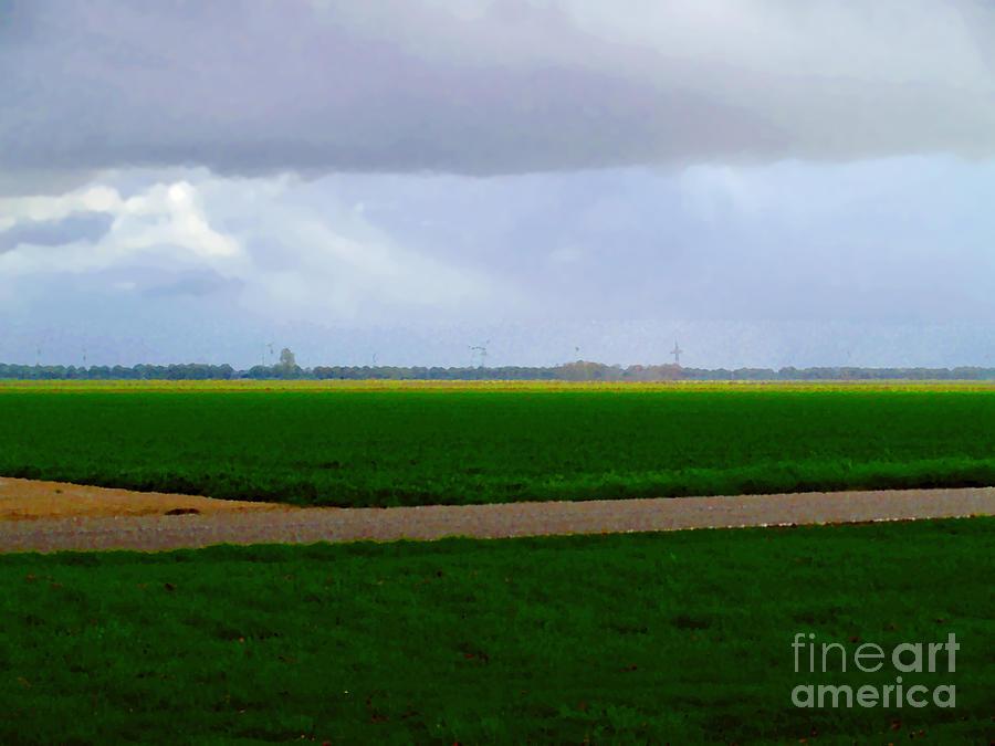 Empty green by Luc Van de Steeg