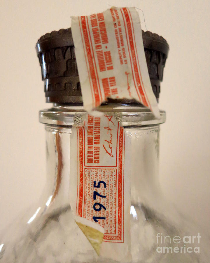 Bottle Photograph - Empty by Patricia Januszkiewicz