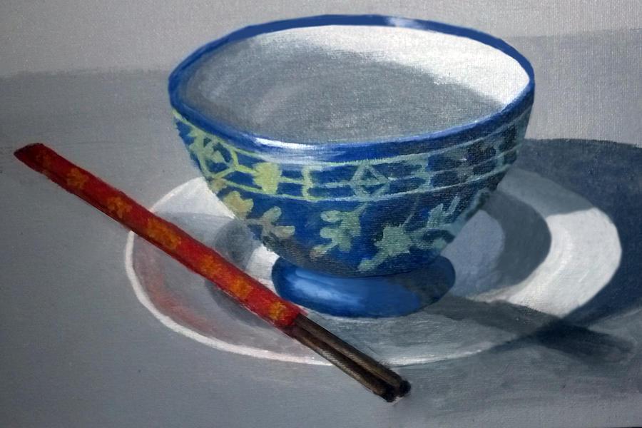 Empty Rice Bowl by Barbara J Blaisdell