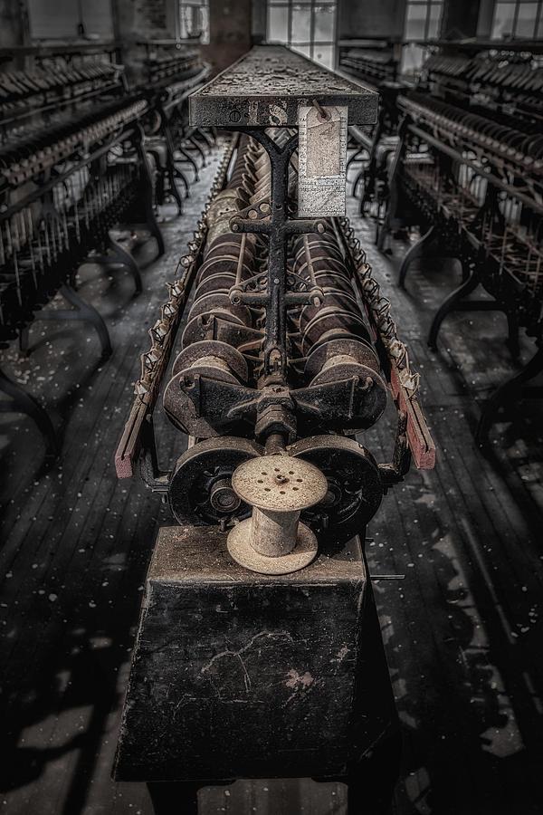 America Photograph - Empty Spool by Susan Candelario