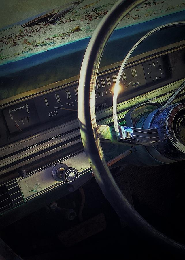 Automobile Photograph - Empty by Tommy Wallace
