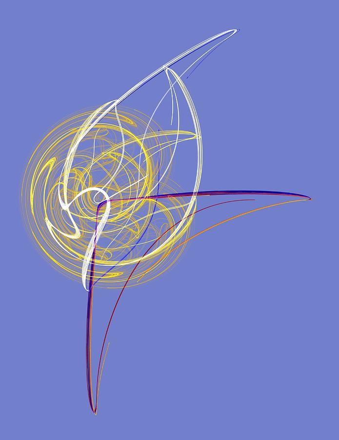 Digital Art - En Pointe by Mike Turner