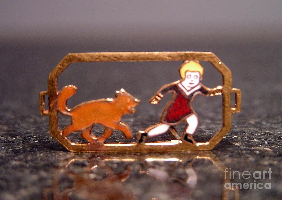 Little Orphan Annie Jewelry - Enamels 22 by Dwight Goss