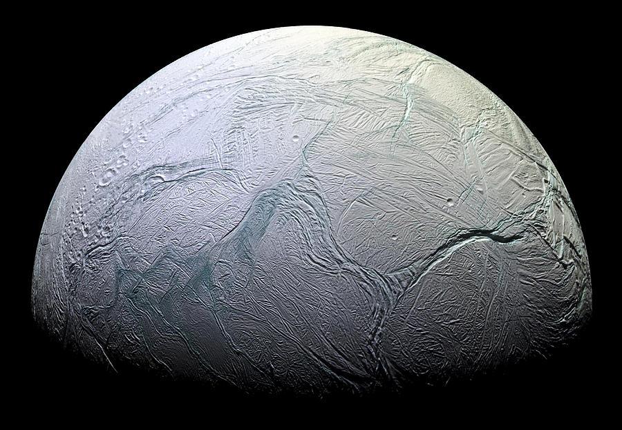 3scape Photos Photograph - Enceladus by Adam Romanowicz